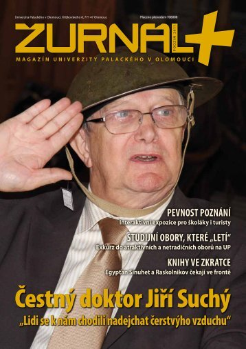 Šesté číslo magazínu Žurnál+ ke stažení - Univerzita Palackého v ...