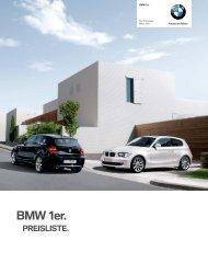 Download Alle Modelle und technischen Daten des ... - BMW.com