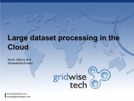 Large dataset processing in the Cloud - Prace Training Portal