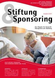Stiftung & Sponsoring - Stifterverband für die Deutsche Wissenschaft