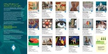 Ateliertage2013Flyer - KunstHandwerk