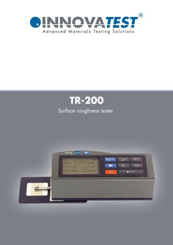 TR-200 Series - Bowers UK