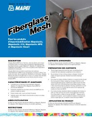 Fiberglass Mesh Fiberglass Mesh - Mapei International