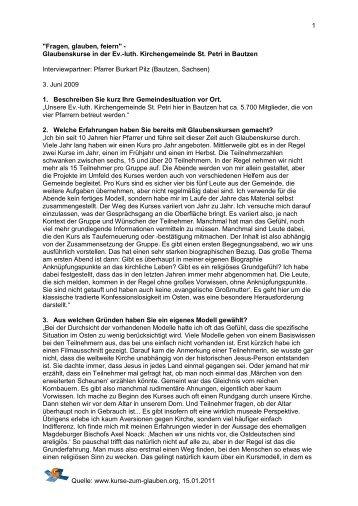 Bautzen - Kurse-zum-glauben.org
