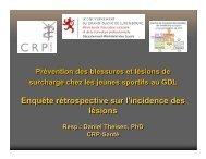Présention de la conférence du 10 mai 2007 (pdf - 248 Ko) - Sports .lu