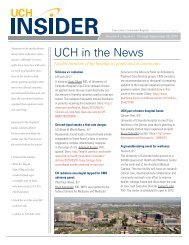 UCH in the News - University of Colorado Hospital