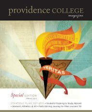 Special EDITION - Providence College