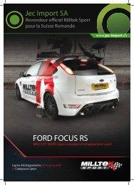 ford focus rs mk2 - Jec Import SA