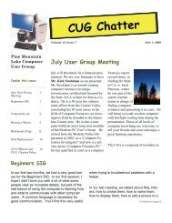 July 2008 Newsletter - PML Computer Users Group