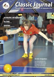 Classic Journal Online 73.2010 - Deutscher Kegler