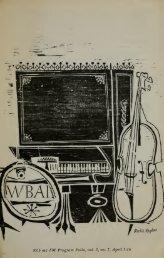 WBAI Program Folio 2, no. 7 (April 3-16, 1961) - solearabiantree