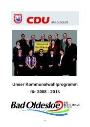 Rainer Fehrmann Horst Möller - CDU Stadtverband Bad Oldesloe