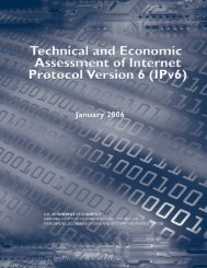 IPv6 - National Telecommunications and Information Administration ...