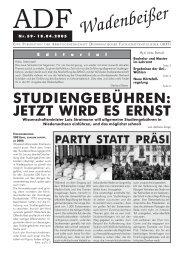 Wadenbeißer Nr. 59 vom 19.04.2005 [PDF] - ADF ...