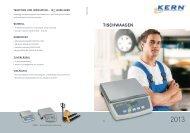 TISCHWAAGEN - KERN & SOHN GmbH