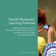 Danish Museums' Learning Potential