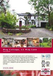 Meg Cottage, 12 Meg Lane