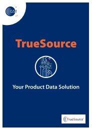 TrueSource brochure - GS1 UK