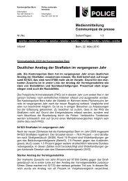 Erläuterungen - Kantonspolizei Bern - Kanton Bern