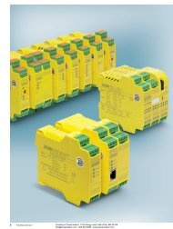 Phoenix Contact INTERFACE Safety - Safety Relays ... - Power/mation