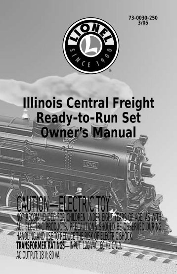 Illinois Central Freight - Lionel