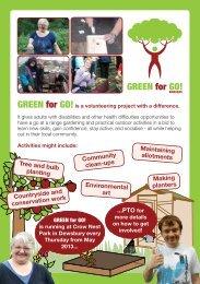 GREEN for GO! - Kirklees Council