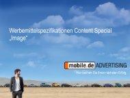 "Content Special: ""Image"" - mobile.de Advertising"
