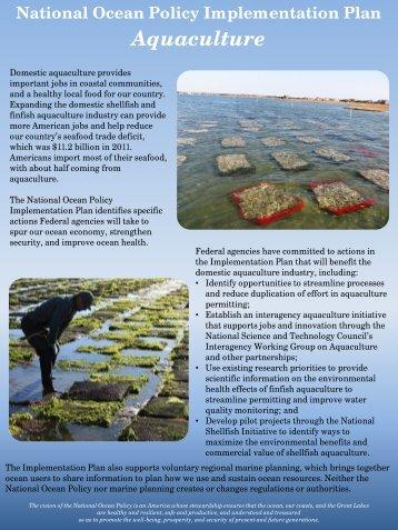 Aquaculture - The White House