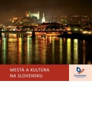 MESTÁ A KULTÚRA NA SLOVENSKU - SACR