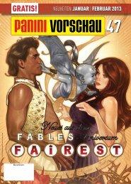 Januar/Februar 2013 - Panini Comics
