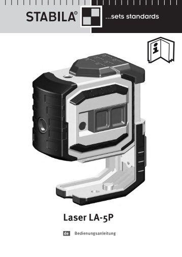 Laser LA-5P - Stabila