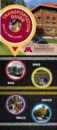 PTS Transportation Guide - University of Minnesota