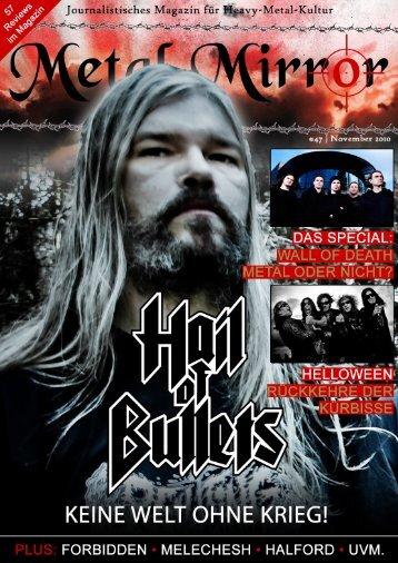 METAL MIRROR #47 - Wall Of Death & Circle Pits, Hail Of Bullets ...