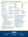 Linear Valve Override Tool (LVOT) - Oceaneering - Page 2