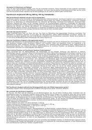 Information für Patientinnen und Patienten - generika.cc