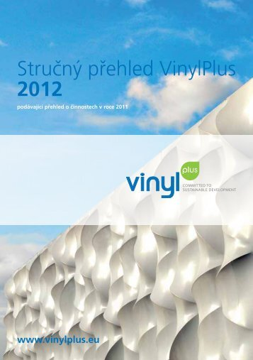 StruÄ ný pÅ™ehled VinylPlus