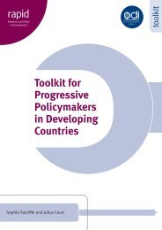 A Toolkit for Progressive Policymakers in Developing Countries ...