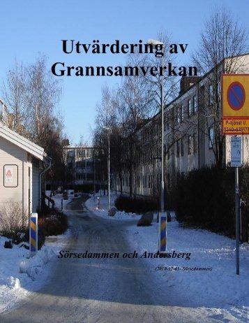 Utvärdering av Grannsamverkan - Varbergs kommun