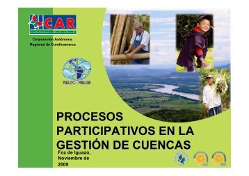 procesos participativos en la gestión de cuencas - INBO