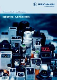 Industrial Connectors - e-catalog - Belden