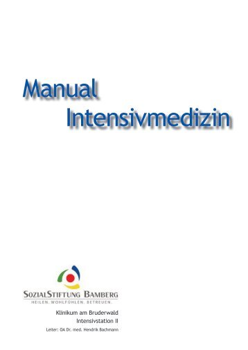 Manual Intensivmedizin - Levofloxacin