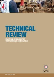 Technical review: practical guidelines fortest pumping in ... - ICRC