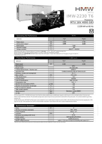 spectrum detroit diesel generator manual