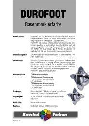 Merkblatt - Knuchel Farben AG