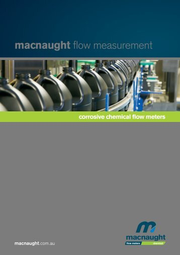macnaught flow measurement