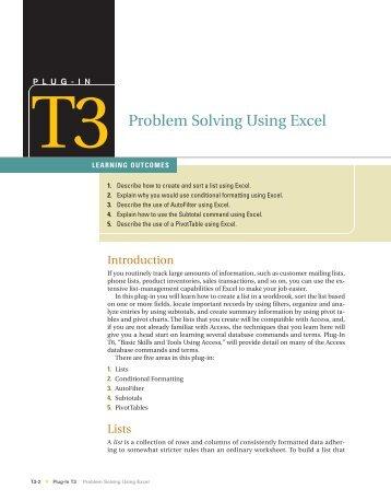Problem solving computer science