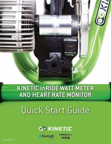 Sensor Installation Manual - Kinetic
