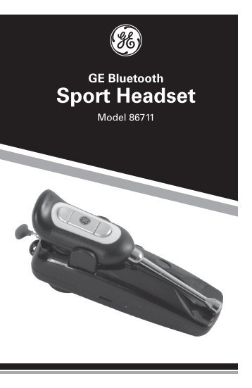 Sport Headset - Jasco Products