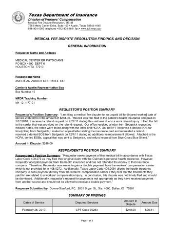 division of workers 39 compensation letter texas department of