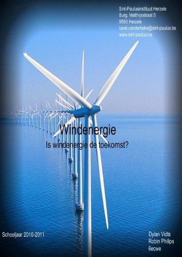 de geschiedenis van windenergie.